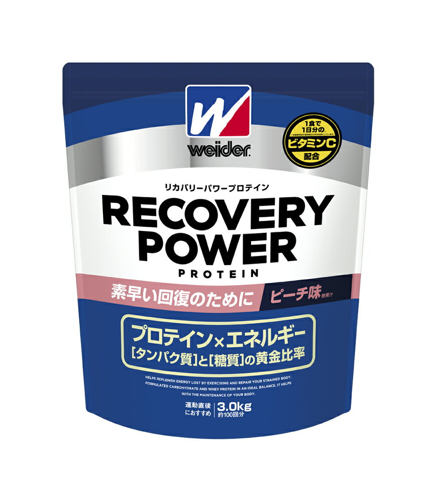 Weider Coverley power protein peach taste 3kg [strongsports]