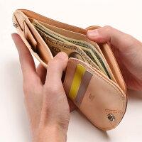 micキップワックスヒップポケット財布アカチャ