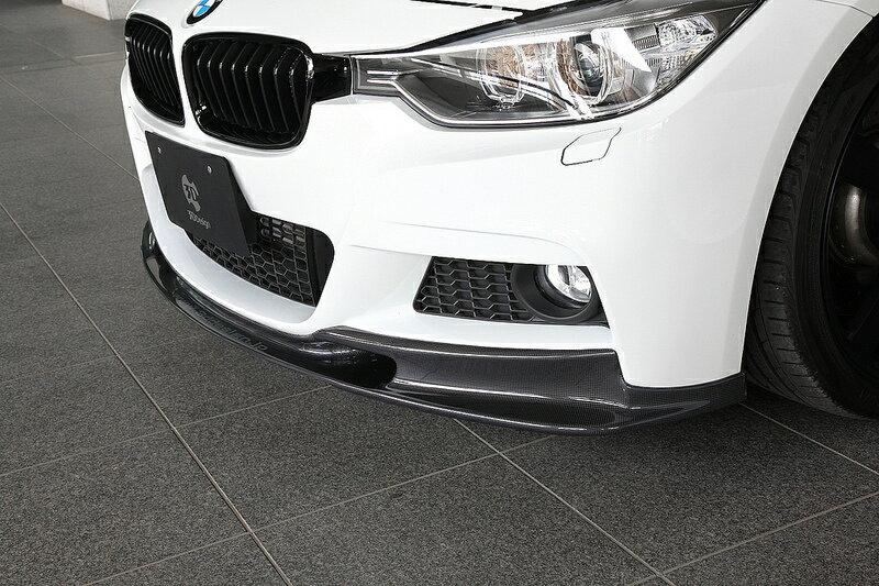 【楽天市場】3d Designカーボンリップスポイラー For Bmw F30 F31 M Sport:studie