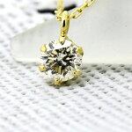 K18ダイヤモンドネックレス0.2ct『Bonheur』