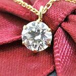K18ダイヤモンドネックレス0.1ct『Bonheur』
