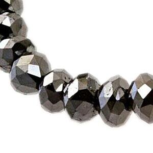 ブラックダイヤモンドネックレス50ctAAAA(フォーエー)、輝きすぎるブラックダイヤモンドはあなたのために・・・・