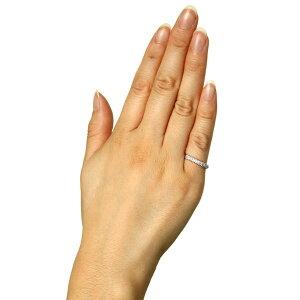 ダイヤモンドリングミル打ちリングSIクラスK18ホワイトゴールド【_包装】【_包装選択】【_名入れ】05P21Aug14