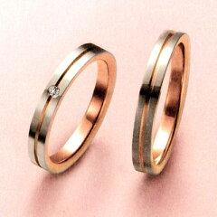 結婚指輪 マリッジリング プラチナ 2本セット 送料無料 ペアリング カップル ダイヤモンド リン...
