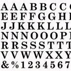 ◎【数量限定価格・即納】Amaily アメイリー ネイルシールNo.4-5 ABC 黒【Amaily アメイリー アルファベット メッセージ】