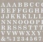 ◎【数量限定価格・即納】Amaily アメイリー ネイルシールNo.4-6 ABC 白【Amaily アメイリー アルファベット メッセージ】