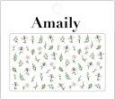 【数量限定価格・即納】Amaily アメイリー ネイルシール No.1...