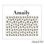 ◎【数量限定価格・即納】Amaily アメイリー ネイルシール No.5-27 ひょう柄