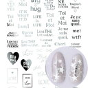 ◎TSUMEKIRA ツメキラ pd CHiHOプロデュース1 Le mot juste silver SG-CHI-105