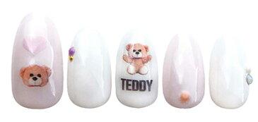 写ネイル プチ Sha-Nail Petite PET-007 Teddy/テディ