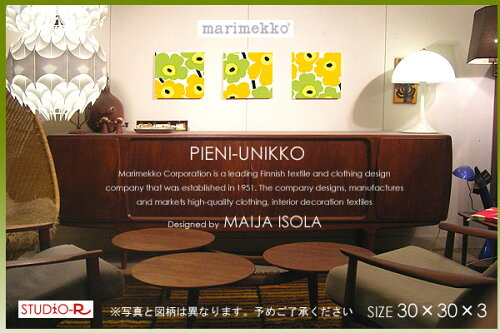 ファブリックパネル ファブリックボード PIENI-UNIKKO(YR)[ご注文サ...