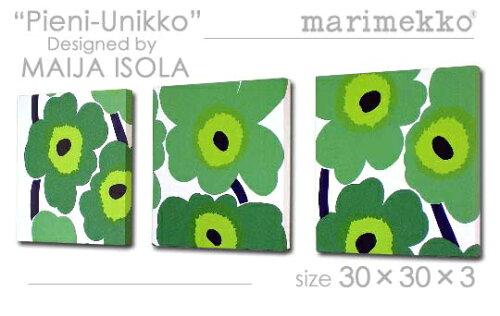 marimekko (マリメッコ) PIENI-UNIKKO (GR) ファブリックパネル/ファブリックボード [SIZE:W30×H...