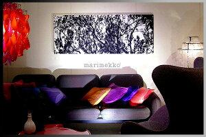 【マリメッコ(marimekko)】北欧 ファブリックファブリックパネル/ファブリックボード(木製ボー...