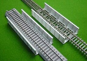 16番:β版単線スルーガーダー橋(246mm/片面支材数13)