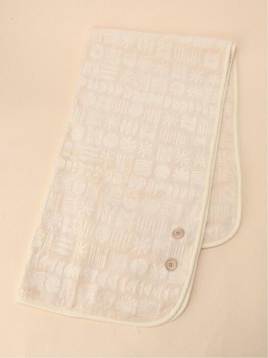 [Rakuten Fashion]【SALE/50%OFF】9エンボスフリースBKT S studio CLIP スタディオクリップ 生活雑貨 ブランケット ベージュ ブラウン【RBA_E】