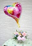 【送料無料】【花とバルーン】生花バスケットアレンジとバルーン【楽ギフ_メッセ入力】【smtb-s】