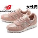 訳あり品 ニューバランス WL373 PPI 23.0cm US6.0 ピンクxホワイト WL373PPI 女性用 NEW BALANCE (nb165)