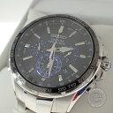 【SEIKOセイコー】SSG009 8B92-0AL0 COUTURAコーチュラ 逆輸入 海外モデル クロノグラフ ソーラー電波 腕時計 ステンレススチール メンズ 【中古】