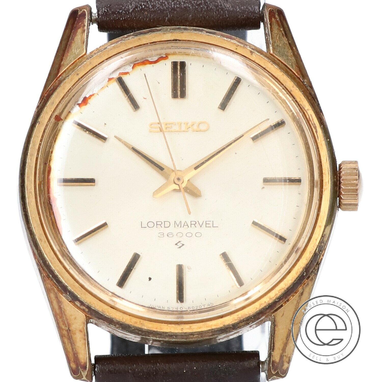 腕時計, メンズ腕時計 SEIKO LORD MARVEL 36000 5740-8000