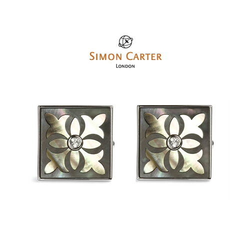 サイモンカーター カフス / カフスボタン (カフリンクス) / デザイン シェル / 貝 / SIMON CART...