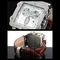 1年保証正規DolceMedioドルチェメディオスイス製ムーブメント仕様クロノグラフ腕時計BOX付