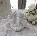 スタイルロココ エンジェル オブジェ(087) 天使置物 ホワイト 可愛い ロマンティック 姫系 癒し ホワイト アンティーク風