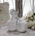 スタイルロココ エンジェル オブジェ(092) 天使置物 ホワイト 可愛い ロマンティック 姫系 癒し ホワイト アンティーク風