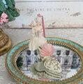 スタイルロココ フェアリー ハイヒールオーナメント 8550 クリスマス 飾り 置物 オブジェ ヨーロピアン アンティーク風 アンティーク 雑貨 姫系 輸入雑貨 シャビーシック 可愛い