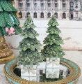 スタイルロココ プレゼントツリーオブジェ ツリー 8509 クリスマス 飾り 置物 オブジェ ヨーロピアン アンティーク風 アンティーク 雑貨 姫系 輸入雑貨 シャビーシック 可愛い
