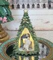 スタイルロココ ツリードームLEDオブジェ ツリー 8508 クリスマス 飾り 置物 オブジェ ヨーロピアン アンティーク風 アンティーク 雑貨 姫系 輸入雑貨 シャビーシック 可愛い