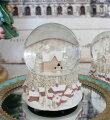 スタイルロココ ピンクハウス スノードーム オルゴール 8608 クリスマス 飾り 置物 オブジェ ヨーロピアン アンティーク風 アンティーク 雑貨 姫系 輸入雑貨 シャビーシック 可愛い