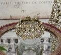 スタイルロココ ジュエルフラワーカップ 8566 クリスマス 飾り 置物 オブジェ ティーキャンドルホルダー ヨーロピアン アンティーク風 アンティーク 雑貨 姫系 輸入雑貨 シャビーシック 可愛い