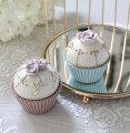 スタイルロココ カップケーキボックス(8368)ケーキ型 小物入れ アンティーク風 アンティーク 雑貨 姫系 輸入雑貨 シャビーシック 可愛い ロココスタイル