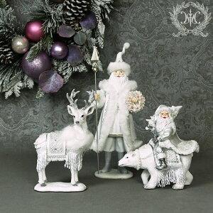 X'mas♪♪サンタフィギュアサンタの置物オブジェクリスマスディスプレイシャビーシックフレンチカントリーアンティーク雑貨輸入雑貨antiqueshabbychic