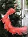 スタイルロココ クリスマスオーナメント♪ (ピンクスカイバード・ロングテール) 鳥モチーフ  シャビーシック 北欧 フレンチ ロマンティック 可愛い クリスマス飾り ツリーオーナメント ツリートップ