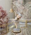 スタイルロココ フラワーフェアリー 妖精 8736 置物 オブジェ ヨーロピアン アンティーク風 アンティーク 雑貨 姫系 輸入雑貨 シャビーシック 可愛い 天使 エンジェル