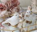 スタイルロココ フラワーフェアリー 妖精 (バード2種セット8737) 置物 オブジェ ヨーロピアン アンティーク風 アンティーク 雑貨 姫系 輸入雑貨 シャビーシック 可愛い 天使 エンジェル