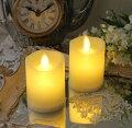 スタイルロココ (2個セット) LED キャンドルライト スモール ホワイト 8461 LED蝋燭 ロウソク型ライト アンティーク風 アンティーク 雑貨 姫系 輸入雑貨 シャビーシック 可愛い 飾り棚