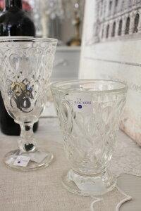 【LaRochere】フランスのラロシェール社製エレガントに輝くゴブレットリヨネ(クリアー)ウォーターグラスガラス食器