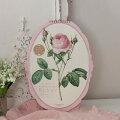 スタイルロココ 2020年  ルドゥーテ オーバル壁掛けカレンダー 薔薇 令和2年度 13枚つづり 日本製
