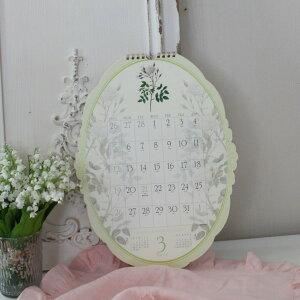 2016年ルドゥーテオーバル壁掛けカレンダー薔薇平成28年度13枚つづり