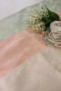 ☆大人気☆シャインローズ撥水テーブルランナーセンター32×150薔薇レターパックOK