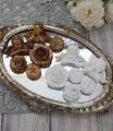 スタイルロココ マグネット6種セット(ホワイト・ゴールド)アンティーク風 シャビーシック 雑貨 姫系 フレンチカントリー