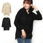 フード付きオーバーサイズセーターの商品イメージ