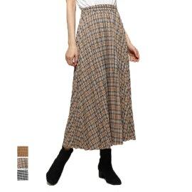 チェック柄プリーツスカートの商品イメージ