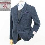 Style Edition|スタイルエディション Harris Tweed ハリスツィード ブルー ヘリンボーン ジャケット