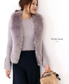styleluxe(ベージュ)ナチュラルな女性に。たっぷり生地の巻きスカート3/24新作