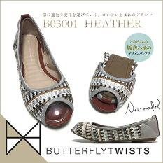 準備中Butterflytwistsバタフライツイストバレエシューズレディースb01026GIGI携帯スリッパmサイズシューズ靴