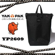 YAKPAKヤックパックリュックリュックサックバックパックトートバッグ黒ブラックレディースメンズ通勤通学旅行YP2609