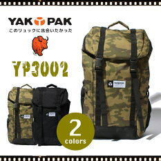 YAKPAK/ヤックパックリュックデイパックバックパック/レディースメンズ大容量通勤通学旅行YP3002